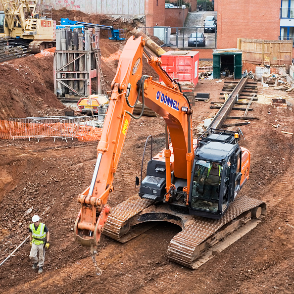 Mailbox「Construction site at the rear of the Mailbox, Birmingham, England, UK」:写真・画像(15)[壁紙.com]