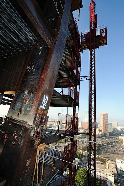 Development「Construction of LA Live in Downtown Los Angeles, California, USA」:写真・画像(6)[壁紙.com]