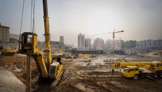 Construction Machinery「Construction site (digital enhancement)」:スマホ壁紙(0)