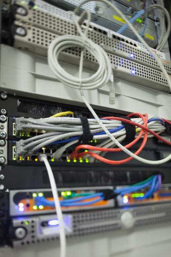 Data Center「Wires in the data servers」:スマホ壁紙(10)