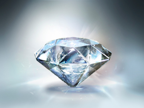 Stone - Object「Diamond White 01」:スマホ壁紙(12)