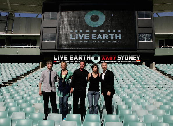 In A Row「Live Earth Media Conference」:写真・画像(19)[壁紙.com]