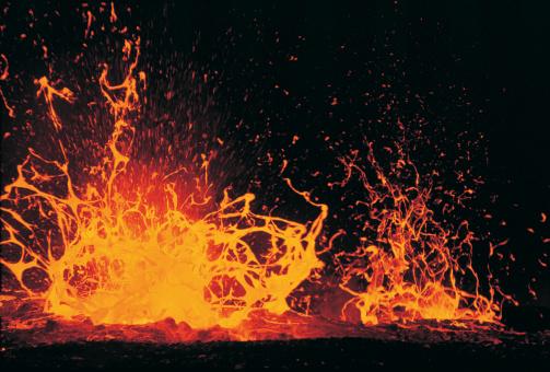 Volcano「Eruption of Lava」:スマホ壁紙(7)