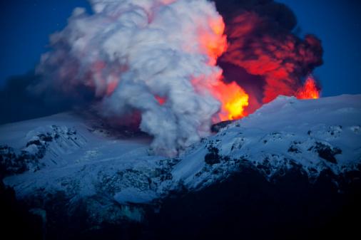 Active Volcano「Eruption of the Eyjafjallajökull volcano」:スマホ壁紙(12)