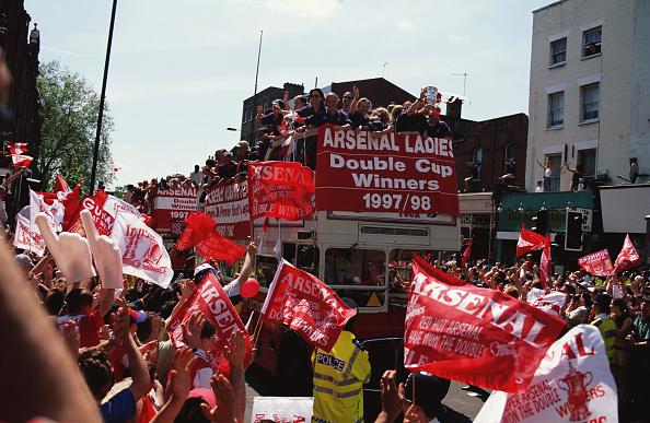 Women's Soccer「Arsenal Double Double」:写真・画像(19)[壁紙.com]