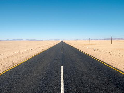 The Way Forward「Africa, Namibia, B4 road」:スマホ壁紙(0)