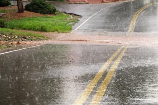 Sedona「Flooded Road Hail Storm」:スマホ壁紙(0)