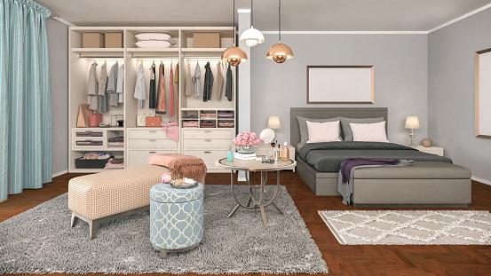 Dress「Cozy Bedroom」:スマホ壁紙(9)