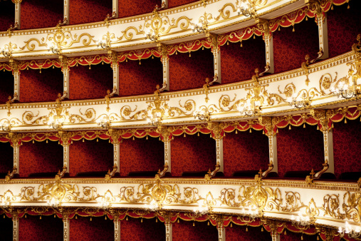 Musical Theater「Boxes of Baroque Italian Theater」:スマホ壁紙(15)