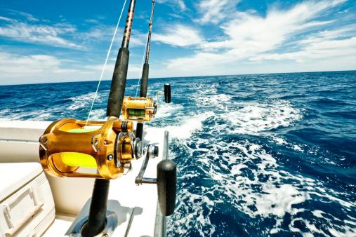 Nautical Vessel「Ocean Fishing Reels on a Boat in the Ocean」:スマホ壁紙(14)