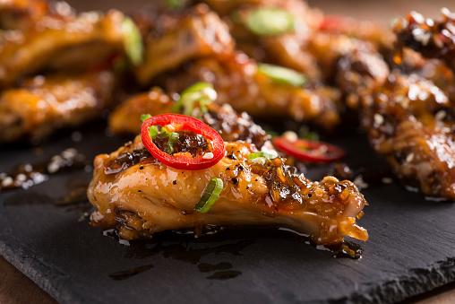 Chicken Wing「Honey Serrano Chicken Wings」:スマホ壁紙(15)