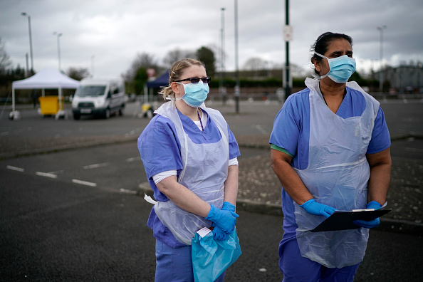 イギリス「Drive-Through Coronavirus Test Site Established In Wolverhampton」:写真・画像(14)[壁紙.com]