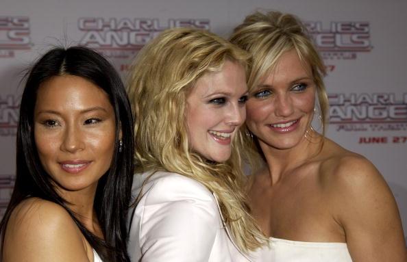 Charlie's Angels「Lucy Liu, Drew Barrymore and Cameron Diaz」:写真・画像(6)[壁紙.com]