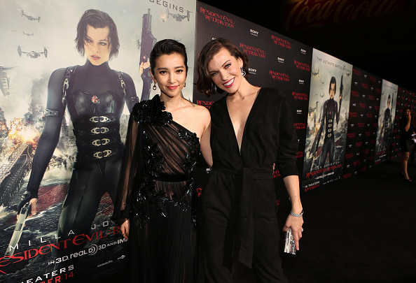 "Li Bingbing「Premiere Of Screen Gems' ""Resident Evil: Retribution"" - Red Carpet」:写真・画像(11)[壁紙.com]"