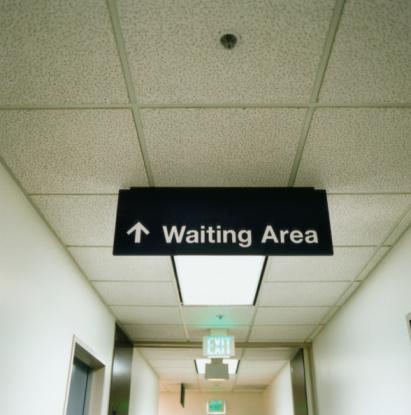 Patience「Waiting Room Sign in Corridor」:スマホ壁紙(8)
