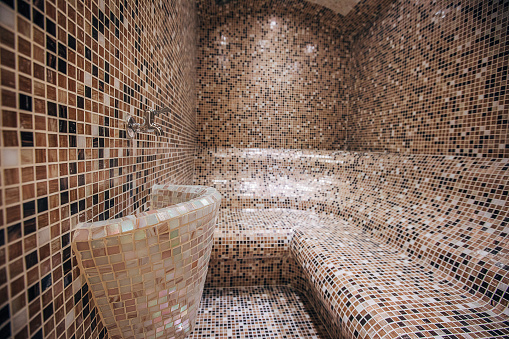 Heat - Temperature「Steam bath interior」:スマホ壁紙(3)