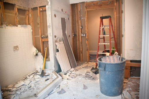 Demolished「Master Bathroom Remodeling: Demolition Phase」:スマホ壁紙(18)