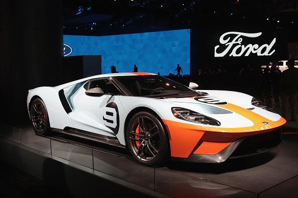 フォード・GT「The North American International Auto In Detroit Hosts Automakers Debuting Latest Vehicles」:写真・画像(11)[壁紙.com]