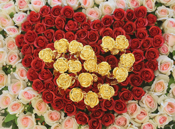 Bouquet「China Prepares For Valentine's Day」:写真・画像(12)[壁紙.com]