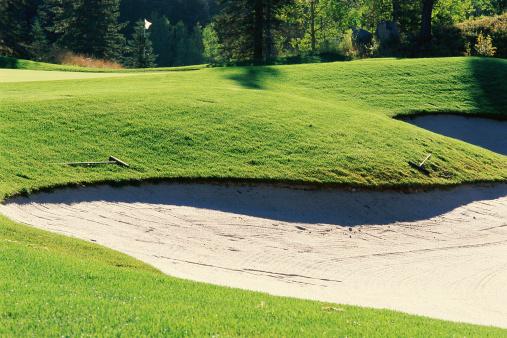 Sand Trap「Sand trap in golf course」:スマホ壁紙(17)