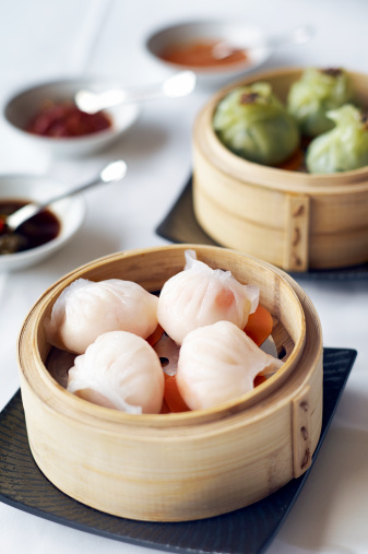 Dim Sum「Steamed Har Gow or Shrimp Dumpling」:スマホ壁紙(11)