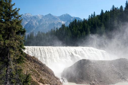 Yoho National Park「Wapta Falls」:スマホ壁紙(6)