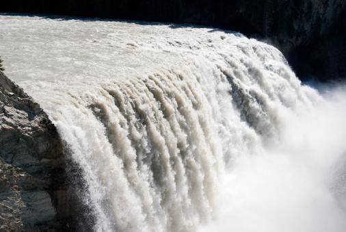 Yoho National Park「Wapta Falls」:スマホ壁紙(5)
