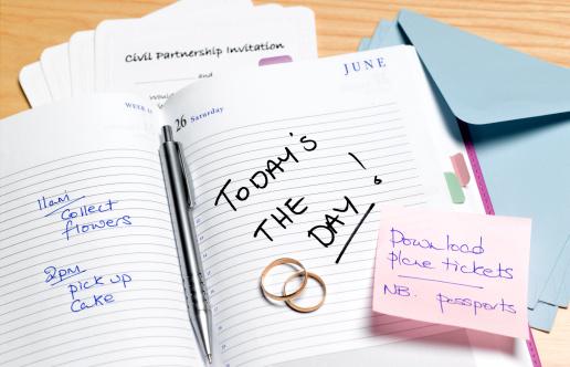 Wedding Invitation「Civil partnership planning diary」:スマホ壁紙(1)