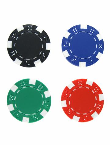Black Color「Poker Chips」:スマホ壁紙(15)