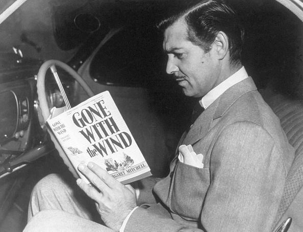 Concentration「Clark Gable Reading」:写真・画像(13)[壁紙.com]