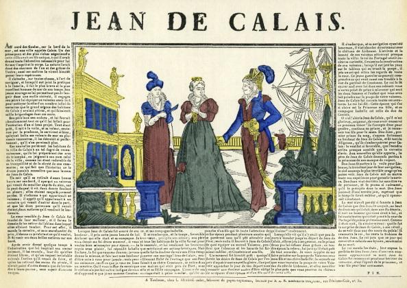 Calais「Jean de Calais - wood engraving printed by L. Abadie」:写真・画像(1)[壁紙.com]