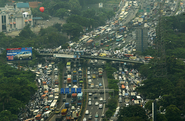 Traffic「Party Promoting Islamic Law Campaign In Jakarta」:写真・画像(7)[壁紙.com]