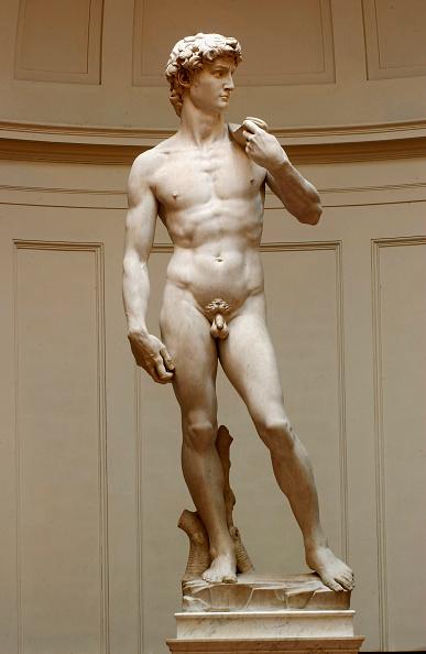 Sculpture「Restoration Work Completed On Michelangelo's David」:写真・画像(1)[壁紙.com]