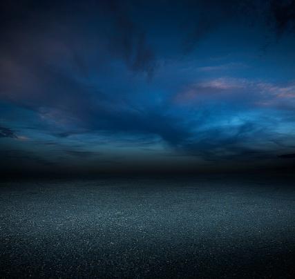 Asphalt「Night parking lot」:スマホ壁紙(18)