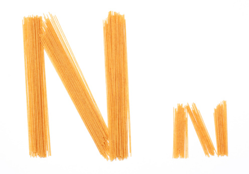 Letter N「Upper and Lower Case Letter N created with Noodles」:スマホ壁紙(10)
