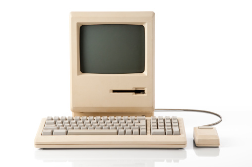 Computer Key「Apple Macintosh Classic Computer」:スマホ壁紙(2)