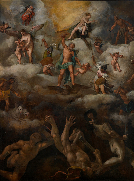 Painting - Activity「The Fall Of The Titans」:写真・画像(19)[壁紙.com]