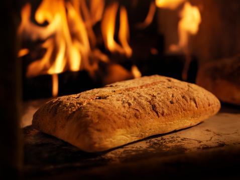 Inferno「Focaccia Bread in a Wood Burning oven」:スマホ壁紙(1)