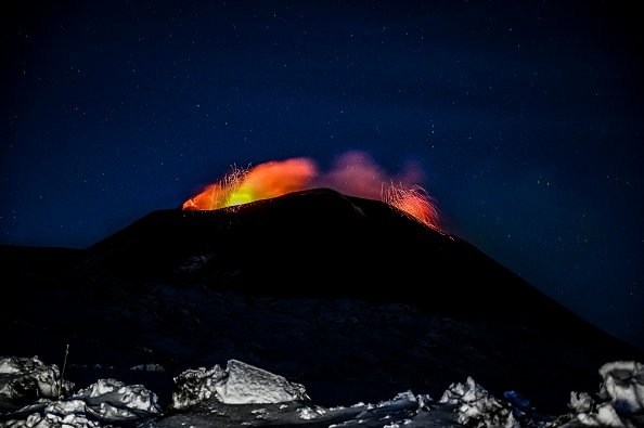Exploding「Mount Etna Activity In Catania」:写真・画像(14)[壁紙.com]