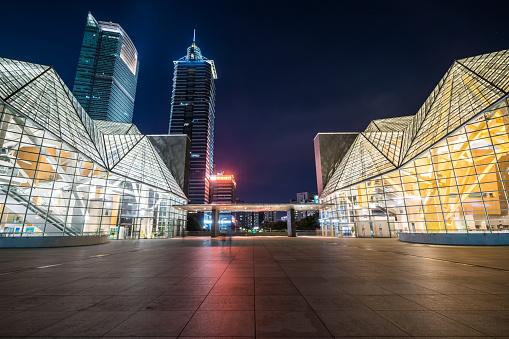 Paving Stone「Shenzhen Skyscrapers at Night」:スマホ壁紙(18)