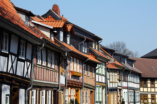 Harz Mountain「Half timbered houses」:スマホ壁紙(16)
