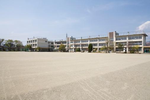School Building「A school」:スマホ壁紙(6)
