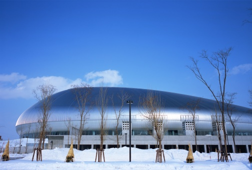 Hokkaido「Sapporo Dome, Hokkaido, Japan」:スマホ壁紙(8)