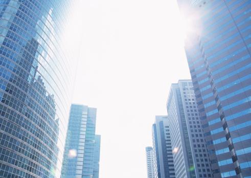 Sun「Office towers」:スマホ壁紙(14)