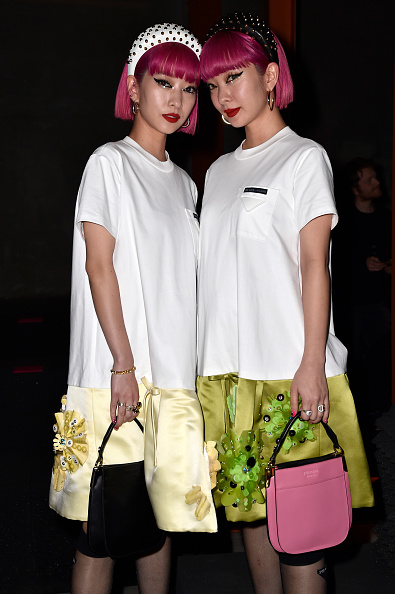 Headband「Prada -Arrivals and Front Row: Milan Fashion Week Fall/Winter 2019/20」:写真・画像(1)[壁紙.com]
