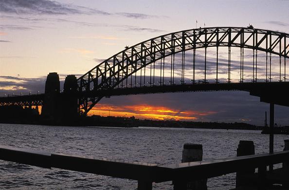Tourism「Harbour bridge at evening - city of Sydney - Australia」:写真・画像(0)[壁紙.com]