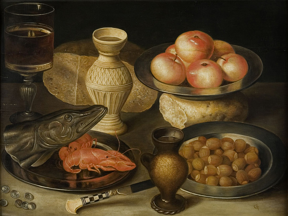 Loaf of Bread「Still Life With Siegburg Stoneware Jug」:写真・画像(17)[壁紙.com]