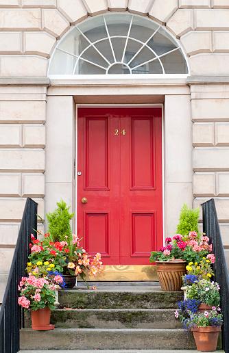 Saturated Color「Edinburgh Door Entrance」:スマホ壁紙(15)