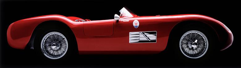 Hot Rod Car「Sports car - Maserati」:スマホ壁紙(8)