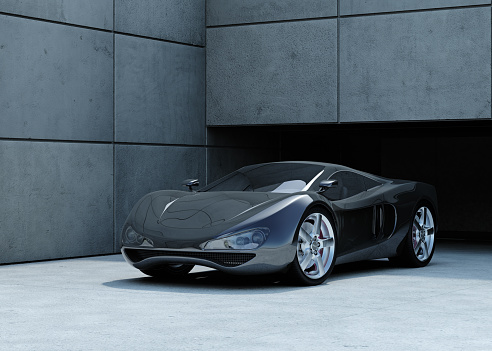 Black Color「Sports Car」:スマホ壁紙(0)